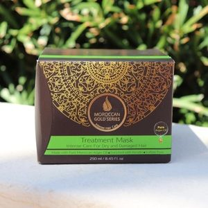Accessories - NWT Moroccan Gold Series Hair Treatment Mask